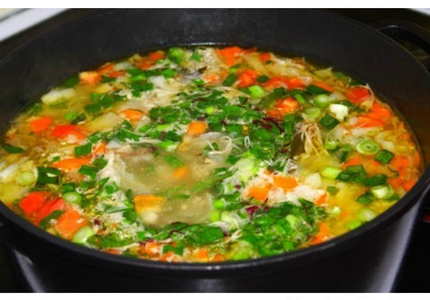 درست کردن سوپ کاهو,طرز تهیه سوپ کاهو,طرز تهیه انواع سوپ,درست کردن سوپ های پاییزی