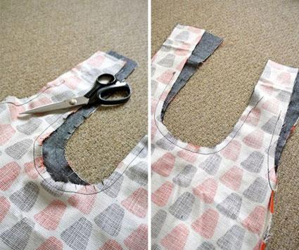 دوخت کیف زنانه,دوخت کیف پارچه ای,آموزش گام به گام خیاطی