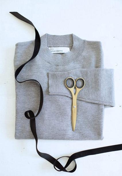 ساخت پاپیون زیبا برای لباس,آموزش تغییر یقه لباس قدیمی