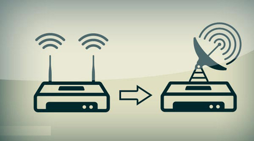 افزایش قدرت پهنای باند وای فای,بالا بردن آنتن دهی وای فای