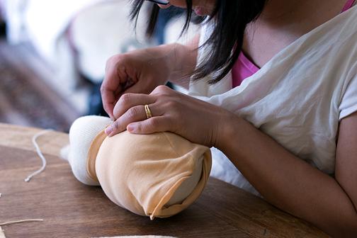 آموزش عروسک جورابی,دوخت عروسک جورابی