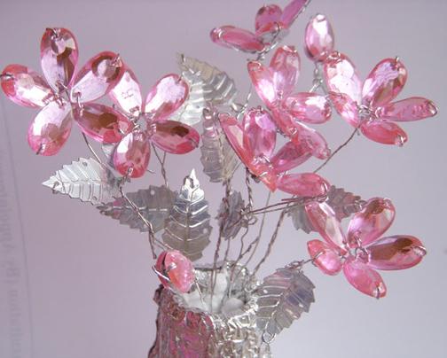 گل تزئینی,ساخت گل تزئینی,آموزش ساخت گل تزئینی
