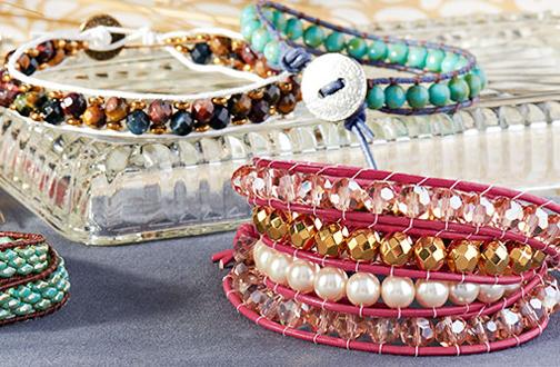 دستبند دوستی,ساخت دستبند با منجوق,آموزش منجوق دوزی