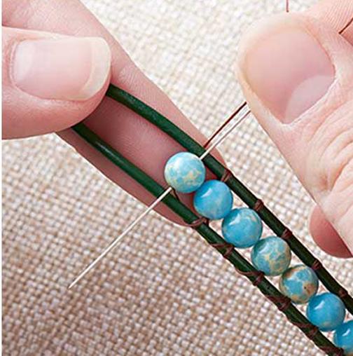 روش ساخت دستبند کریستالی,آموزش ساخت دستبند کریستالی