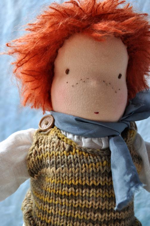 ساخت عروسک با پارچه,عروسک والدورف,مدل های عروسک والدورف