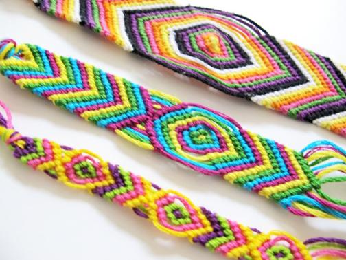 روش بافت انواع دستبند,آموزش بافت انواع دستبند