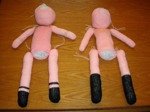 طرز ساخت عروسک,ساخت عروسک بچه گانه