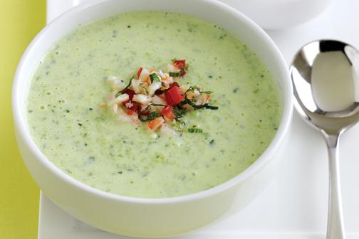 طرز درست کردن سوپ سرد آسان,آموزش درست کردن سوپ سرد آسان