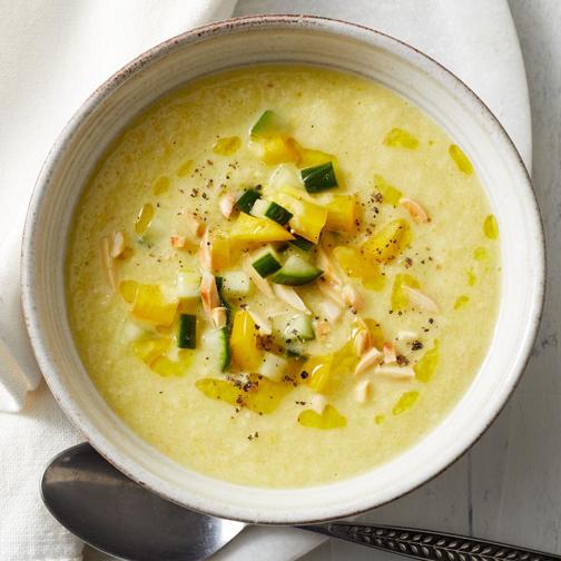 آموزش درست کردن سوپ سرد,طرز تهیه سوپ سرد