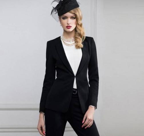 مدل کت و شلوار دخترانه,جدیدترین مدل های کت و شلوار زنانه