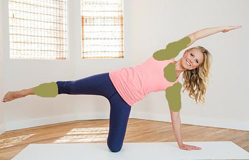 حرکات تعادلی برای زیبایی اندام بعد از زایمان
