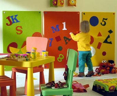 ساخت اتاق بازی برای کودک,تزئین اتاق بازی کودک