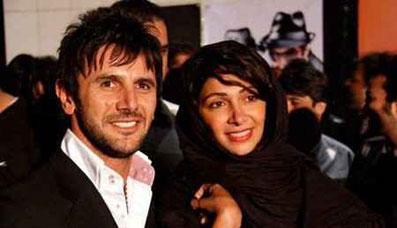 تصاویر بازیگران به همراه همسرشان