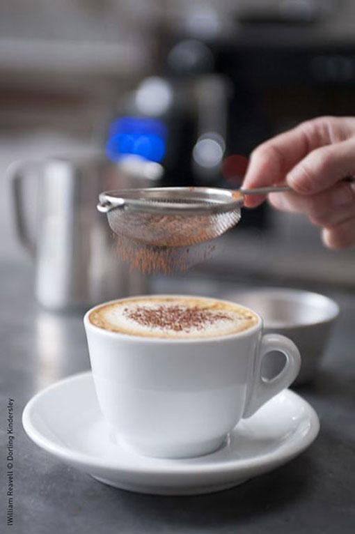 تزئین چایی به روش های مختلف,تزئین قهوه و چایی به روش های مختلف