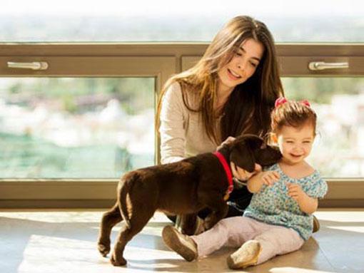 کاهش ترس کودکان از حیوانات,ازبین بردن ترس کودکان از حیوانات