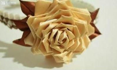 ساخت گل رز با روبان,آموزش ساخت انواع گل با روبان