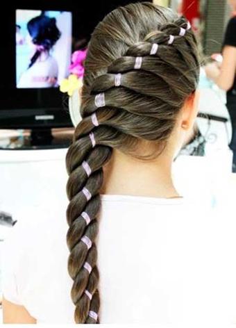 مدل ساده و زیبای مو,مدل موهای زیبا برای مناسبتهای خاص