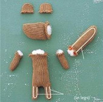 عروسک سنجاب,آموزش کاردستی تزئینی,آموزش ساخت کاردستی