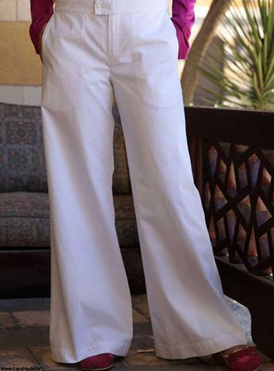 مدل شلوار تابستانی زنانه,شیکترین مدل شلوار تابستانی زنانه