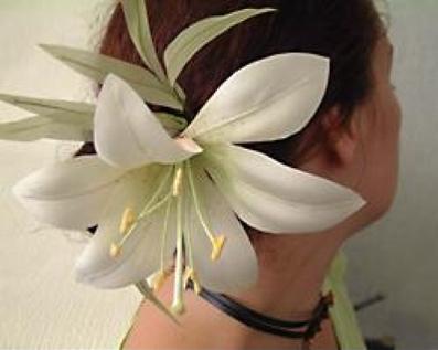 ساخت گل سر پارچه ای,ساخت تل سرشیپوری,ساخت گل سر شیپوری