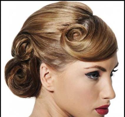 سایت آرایشگری,آموزش شینیون انواع مو,شینیون موی زنانه