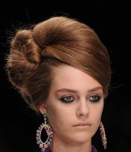 جدیدترین مدل های رنگ موی زنانه,شیکترین مدل های مو,مدل موی مجلسی