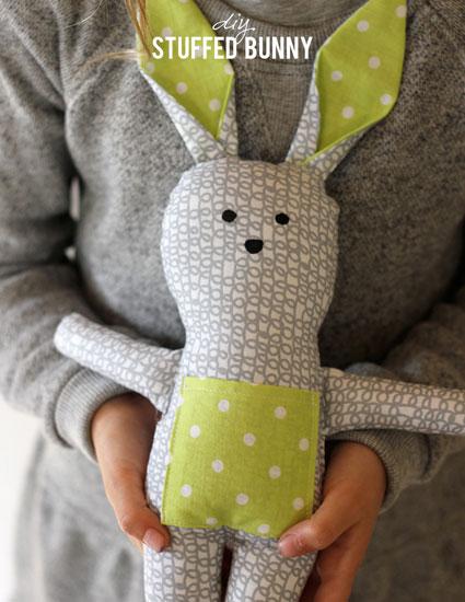 ساخت عروسک بچه گانه,ساخت خرگوش,خرگوش پارچه ای,عروسک دست ساز