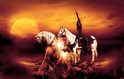اس ام اس ماه محرم,پیامک تاسوعا,اس ام اس روز تاسوعا,اس ام اس شهادت حضرت عباس