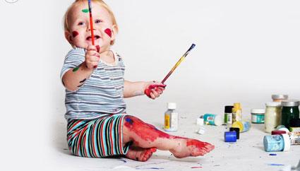 افزایش استعداد نقاشی در کودکان,آموزش دادن نقاشی به کودکان,چه کنم بچم نقاشی بکشد