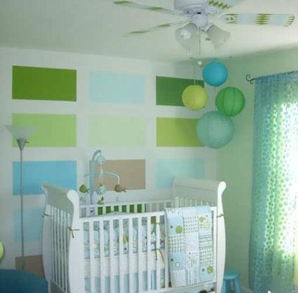 تزئین اتاق کودک,تزئین اتاق نوزاد,دکوراسیون اتاق کودک