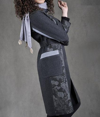 عکس لباس زنانه,مدل پالتو,پالتو زمستانی,مدل پالتو زمستانی