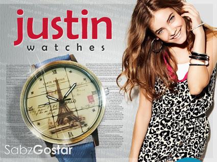 خرید آنلاین ساعت دخترانه,ساعت مچی جاستین,خرید ساعت مچی جاستین