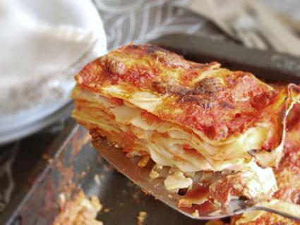 آموزش درست کردن لازانیای ایتالیایی,آموزش طرز تهیه لازانیای ایتالیایی,طرز پخت لازانیای ایتالیایی