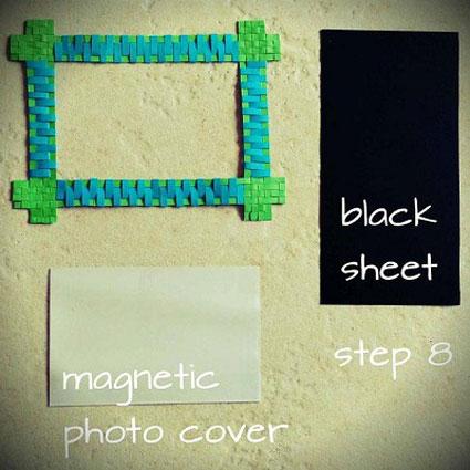 چگونه قاب عکس درست کنیم؟,آموزش ساخت قاب عکس با مقوا